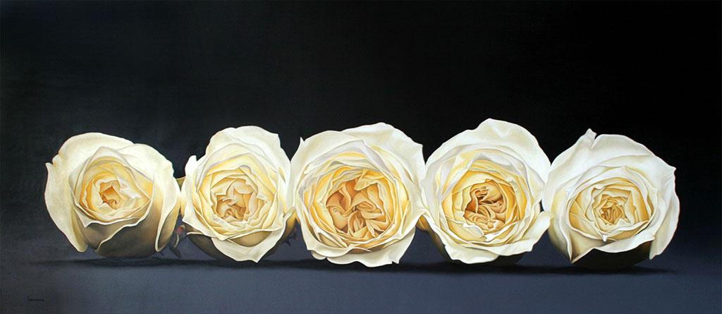 (2005) Óleo sobre lino 100 x 230 cms